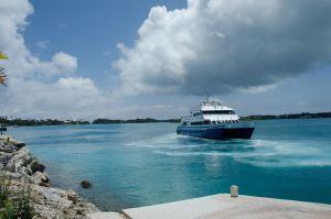 FerryLeavingStGeroge