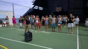 Flash mob practice
