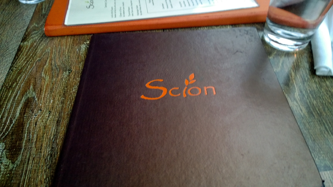 Good Eats in DC – Scion Restaurant