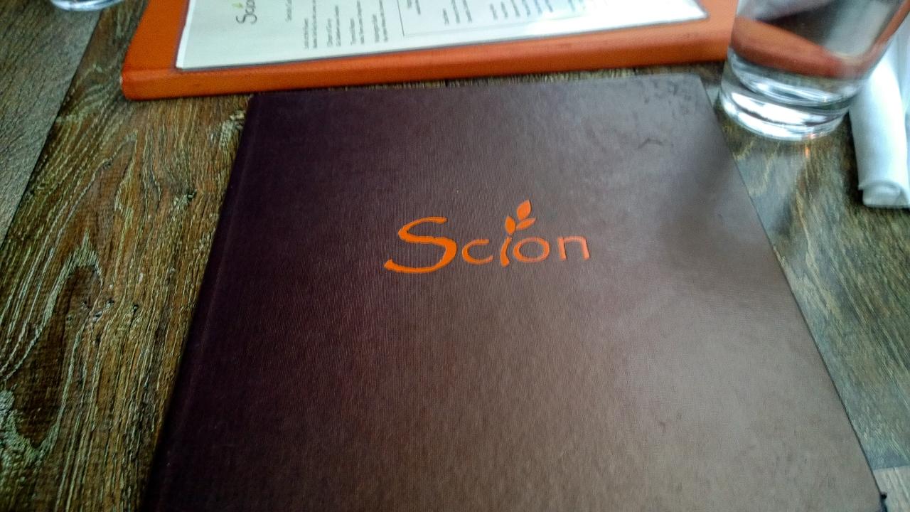 Good Eats in DC – ScionRestaurant