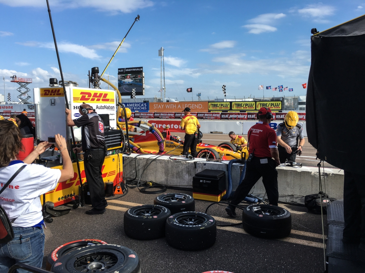 A Weekend at the 2016 Grand Prix of StPete