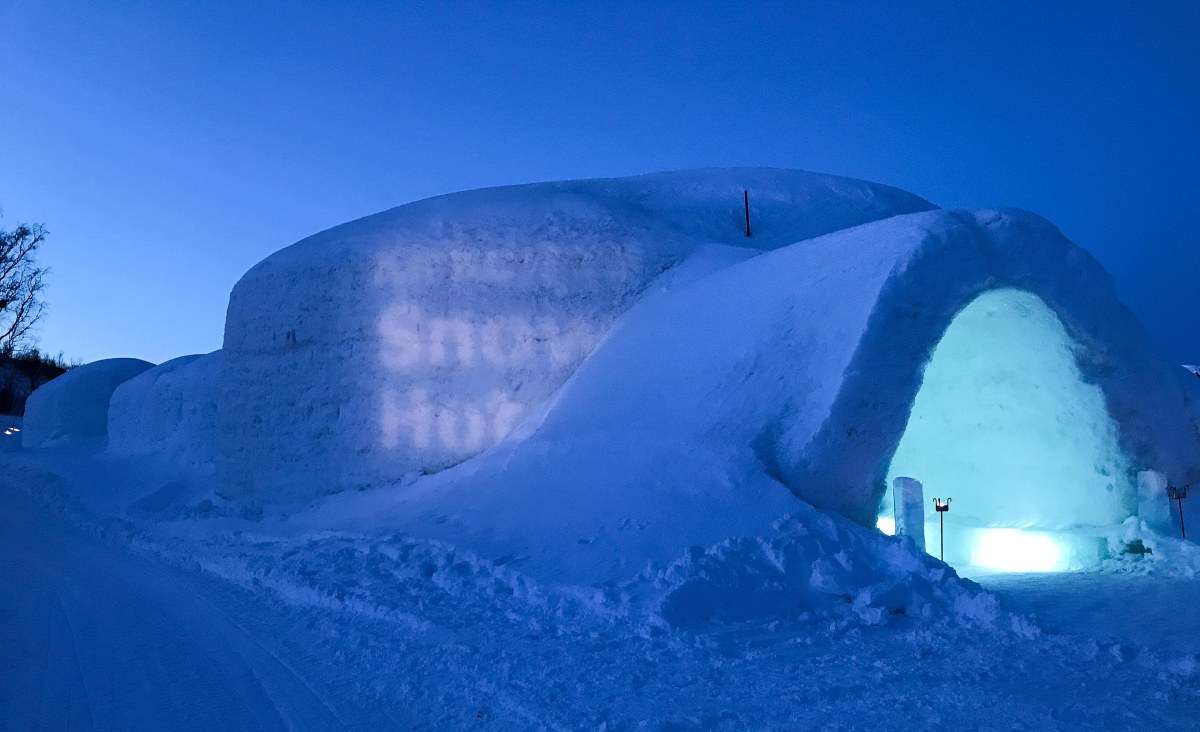 A Night in the Kirkenes Snow Hotel – Part1