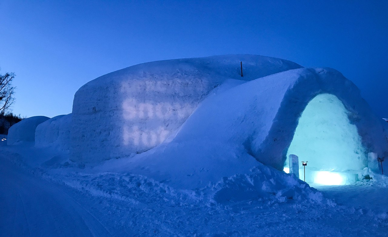 A Night in the Kirkenes Snow Hotel – Part 1
