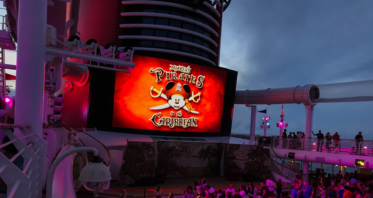 Sailing with Disney – Pirate Night!